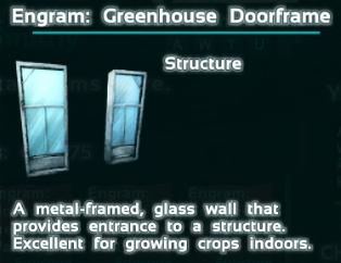 Greenhouse doorframe ark forum deutsches ark survival evolved forum der malvernweather Choice Image